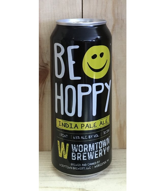 Wormtown Be Hoppy 16oz can 4pk
