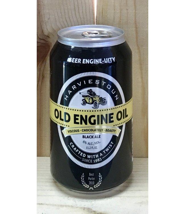 Harviestoun Old Engine Oil black ale 12oz can 4pk
