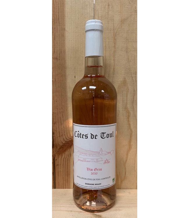 Domaine Migot Côtes de Toul Vin Gris 2020