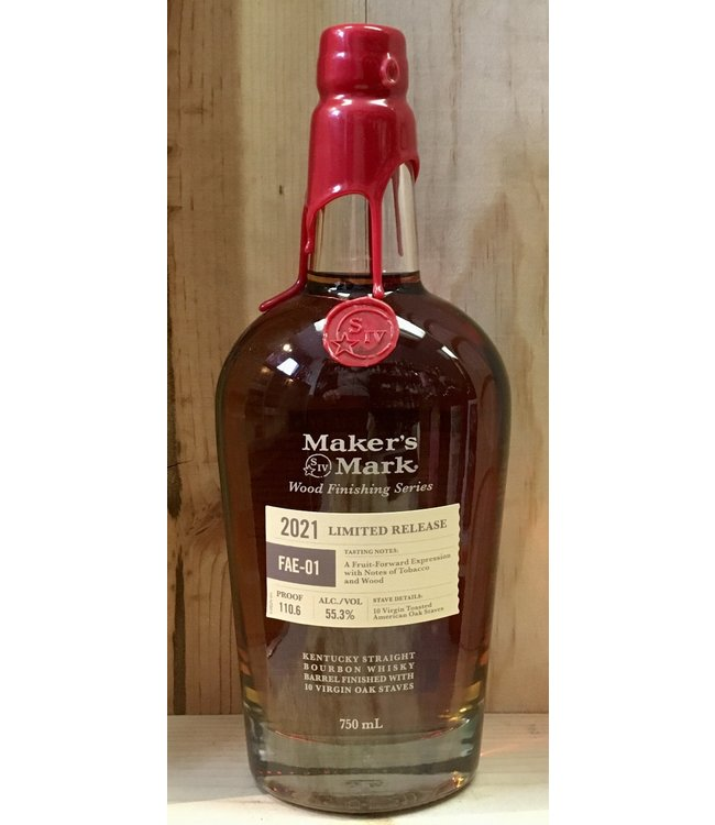Makers Mark Wood Finishing Limited Release FAE-01 750ml