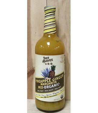 Tres Agaves Pineapple Ginger Organic Margarita Mix 1lt
