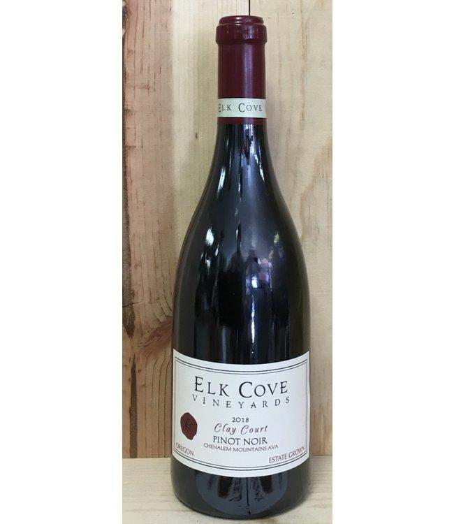 Elk Cove Clay Court Pinot Noir 2018