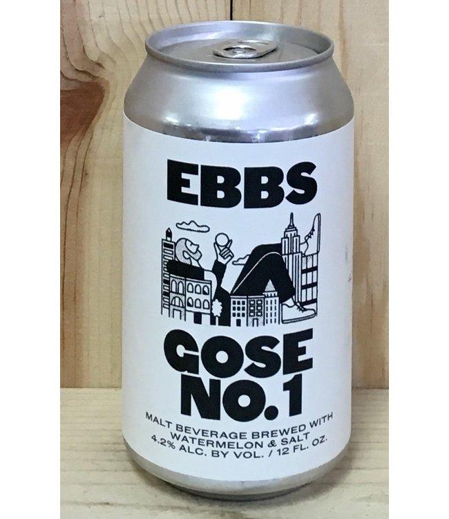 Ebbs Gose No. 1 with watermelon 12oz can 6pk