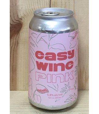 Easy Wine Pink 12oz can 4pk