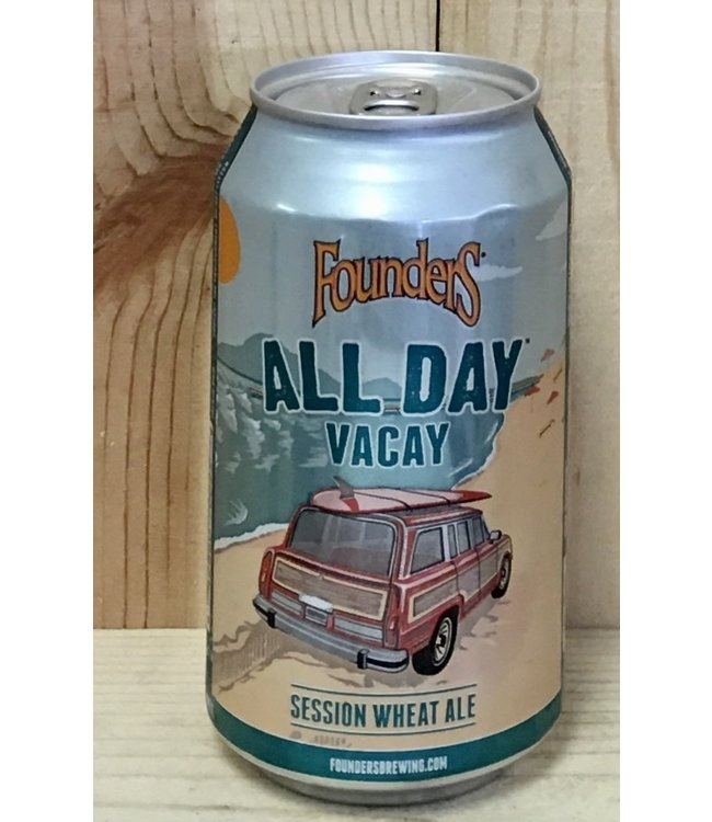 Founders All Day Vacay session wheat ale 12oz can 15pk