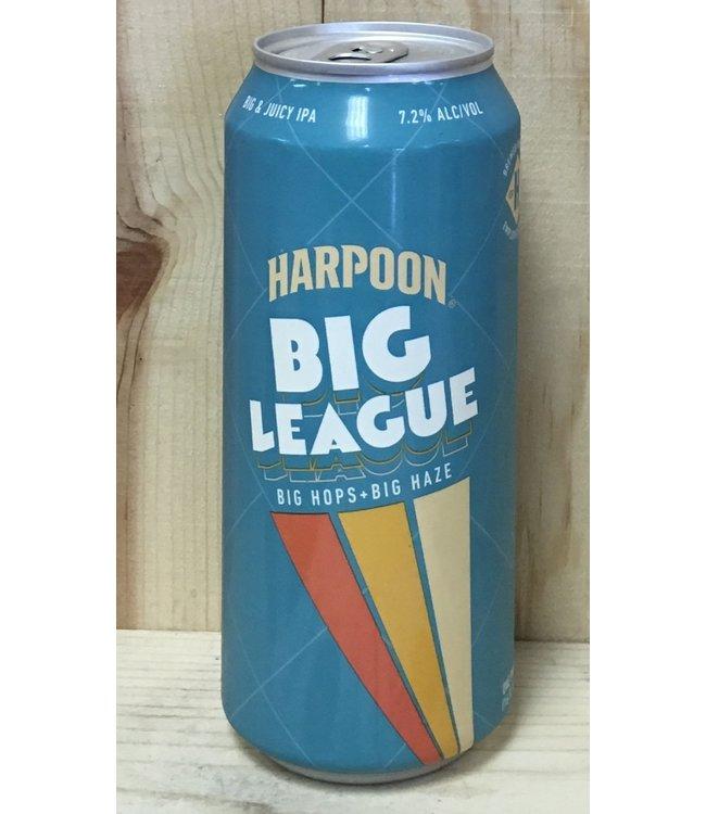 Harpoon Big League hazy IPA 16oz can 4pk