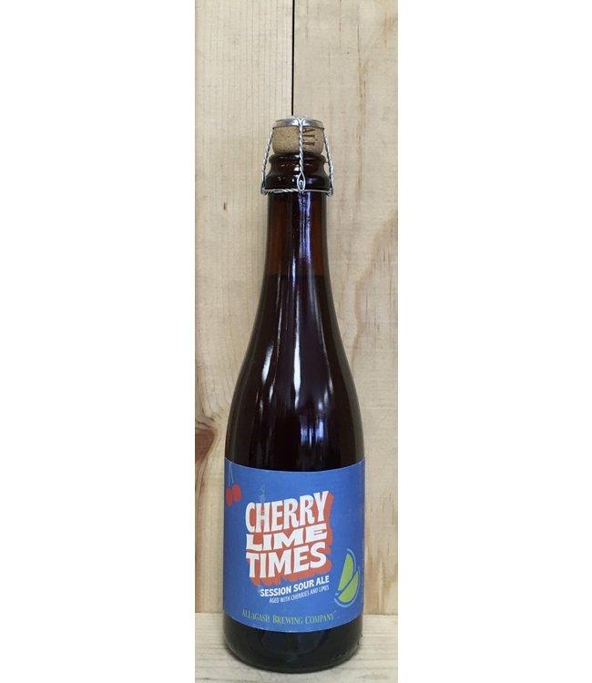 Allagash Cherry Lime Times session sour 16.9oz bottle