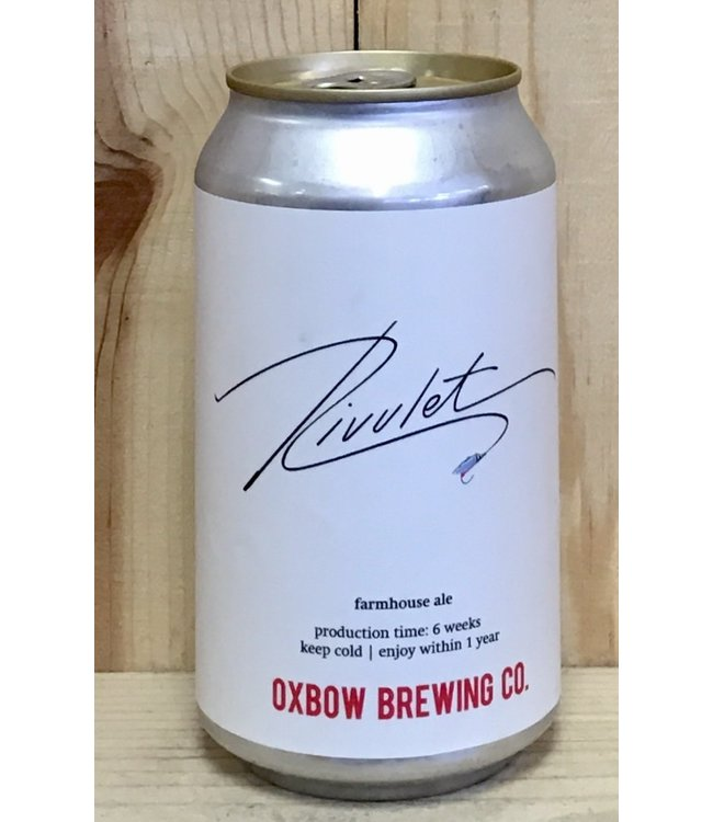 Oxbow Rivulet 12oz can 4pk