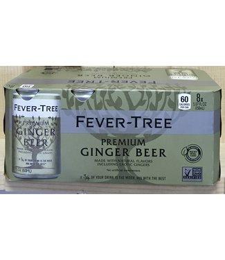 Fever Tree Premium Ginger Beer 8pk 150ml Cans