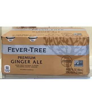 Fever Tree Premium Ginger Ale 8pk 150ml cans