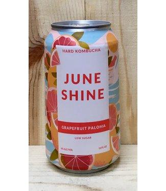 June Shine Grapefruit Paloma hard kombucha 12oz can 6pk