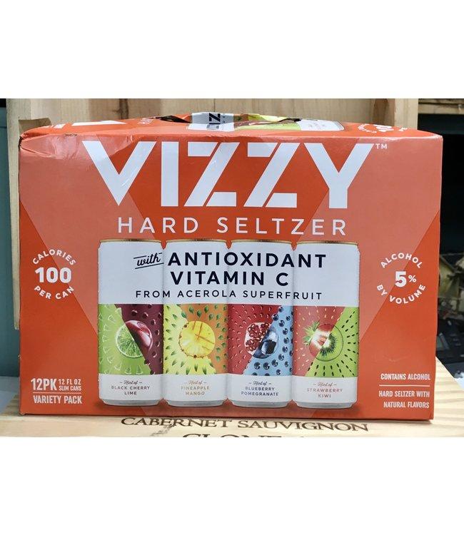 Vizzy Hard  Seltzer 12oz can variety 12pk