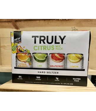 Truly Citrus 12oz can variety 12pk