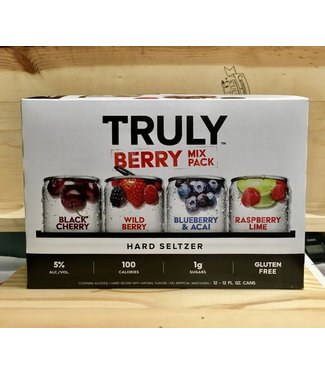 Truly Berry 12oz can variety 12pk