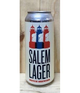 Notch Salem Bavarian Helles style lager 16oz can 4pk