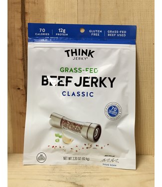 Think Classic Grass Fed Beef Jerky 2.2oz pack