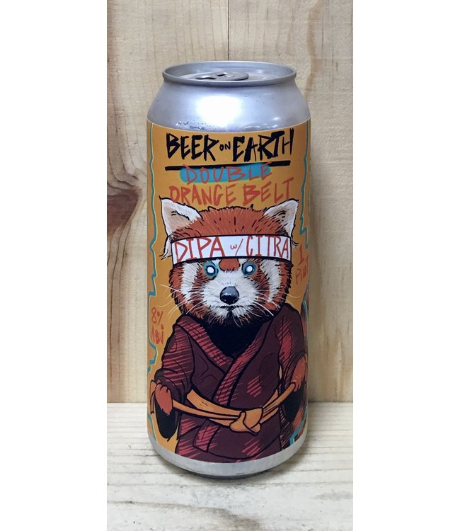 Beer on Earth Double Orange Belt DIPA 16oz can 4pk