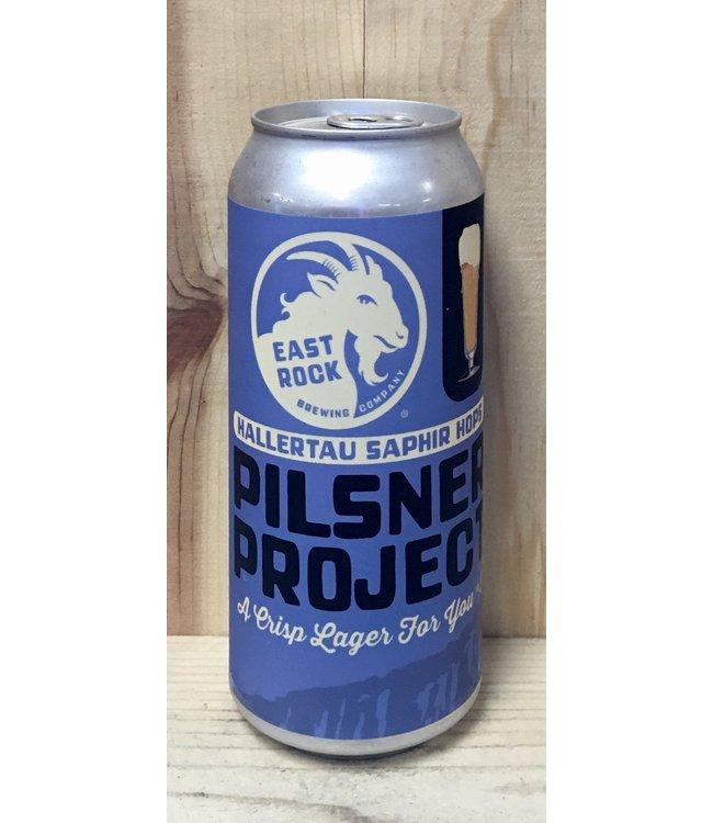 East Rock Pilsner Project 16oz can 4pk
