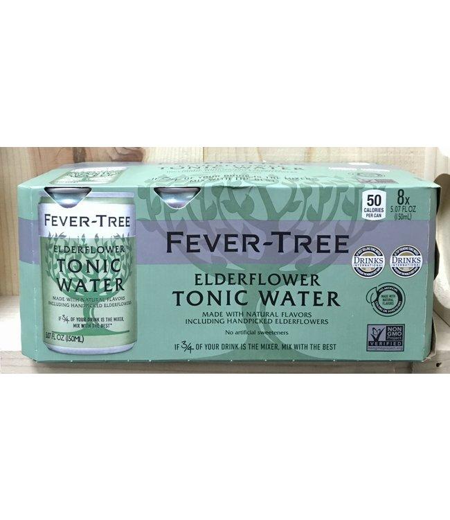 Fever Tree Elderflower Tonic 8pk
