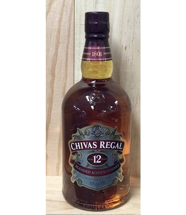 Chivas Regal 12yr Scotch Whisky 750ml