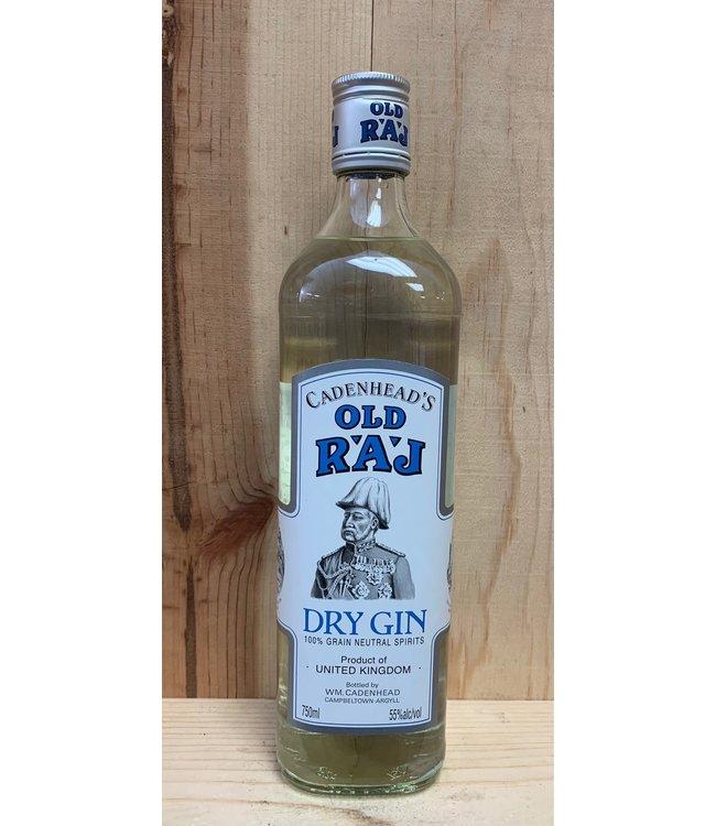 Old Raj Dry Gin Blue Label
