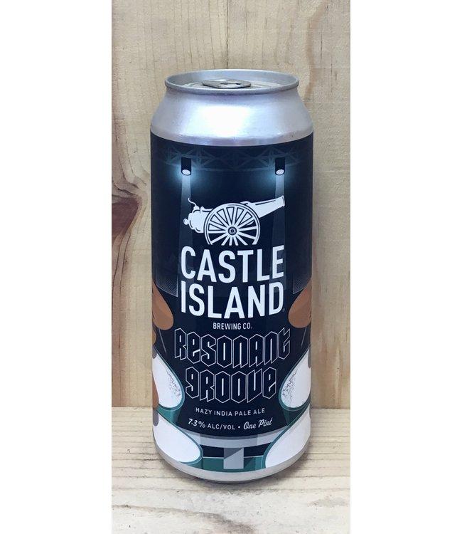 Castle Island Resonant Groove Hazy IPA 16oz can 4pk