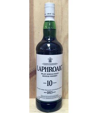Laphroaig 10 Yr Single Malt 750ml