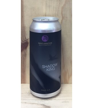 Proclamation Shadow King pale ale 16oz can 4pk