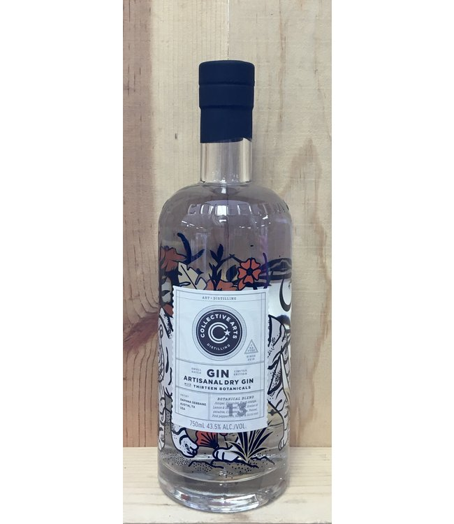 Collective Arts Artisanal Dry Gin 750ml