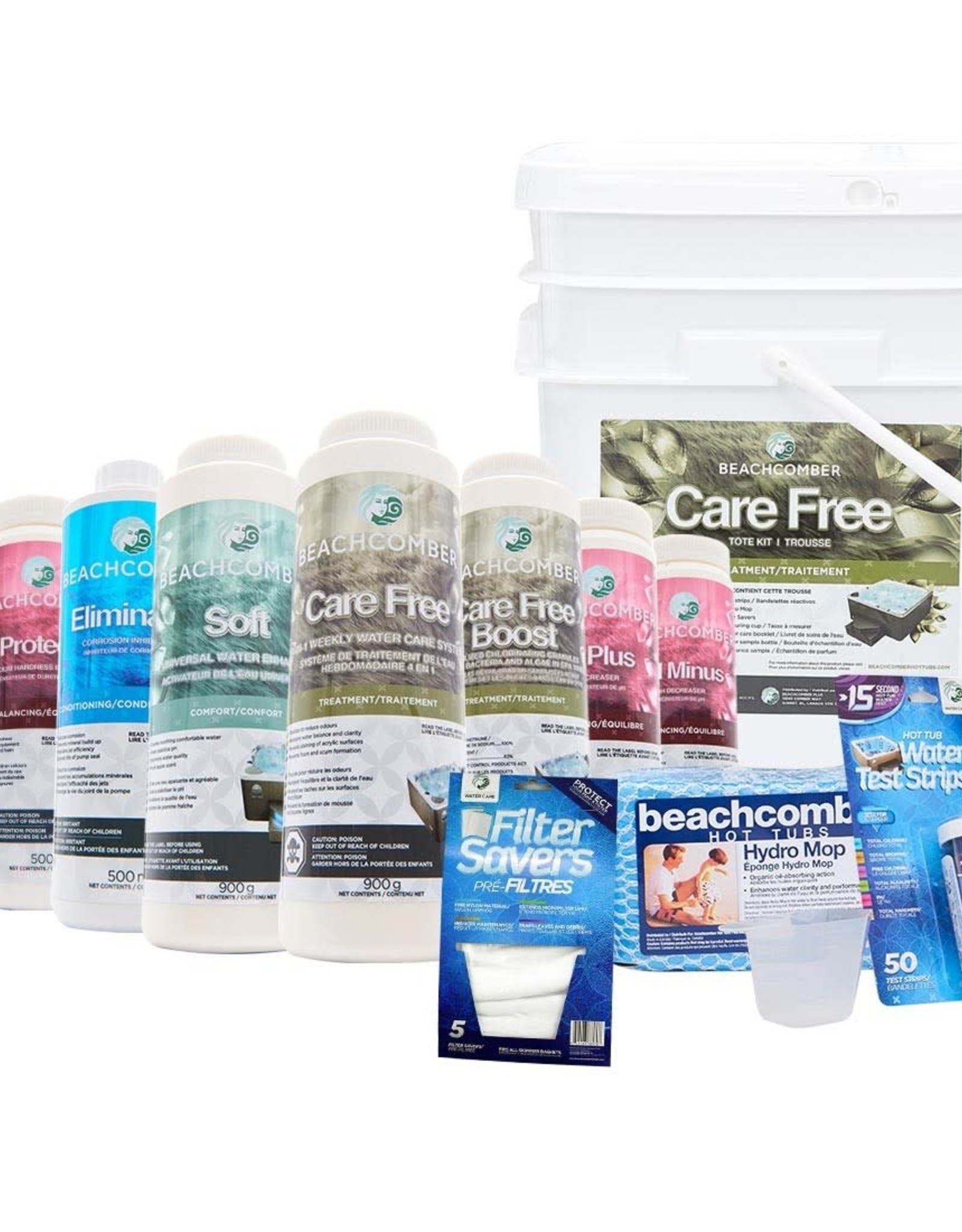BEACHCOMBER CARE FREE TOTE - Water Care Products