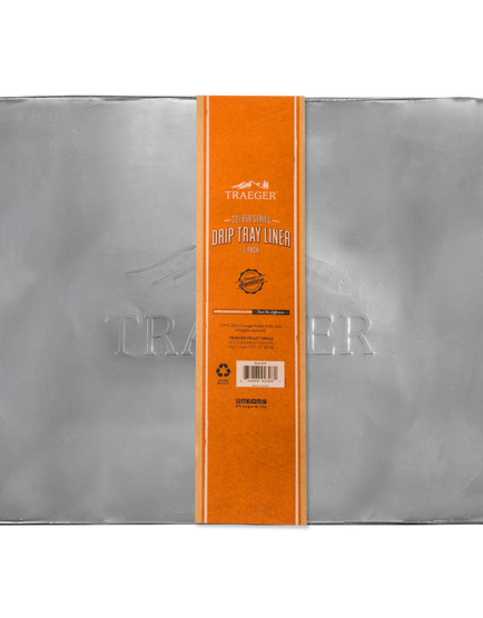 Traeger DRIP TRAY LINER 5 PACK - PRO 575/22