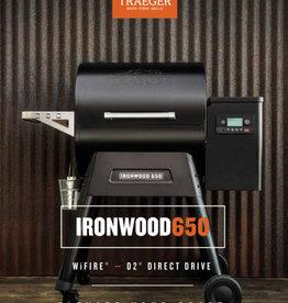 Traeger IRONWOOD SERIES 650 PELLET GRILL