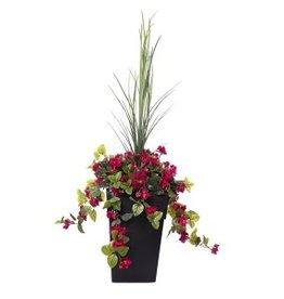 "Veronneau 40"" outdoor pink azalea planter"