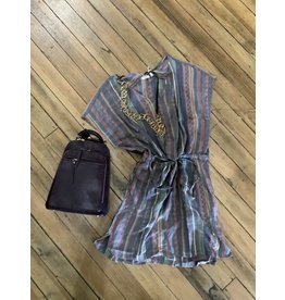 Dylan Zuma drawstring dress