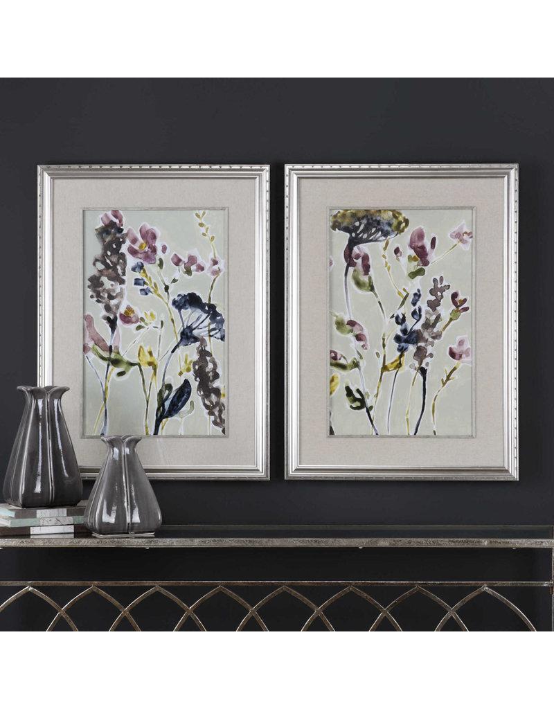 UTTERMOST Parchment flower field ind. priced 33670