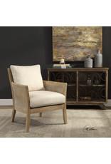 UTTERMOST Encore natural armchair 23461