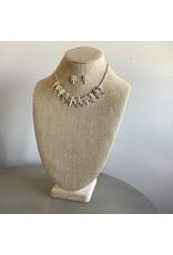 Color Wash Sticks Necklace & Earring Set N1719TT