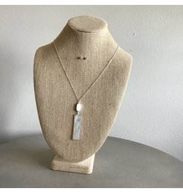 Shell Bar Drop Necklace & Earring Set N1678S