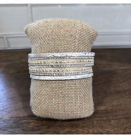 Silver Ivory Magnetic Bracelet MB100