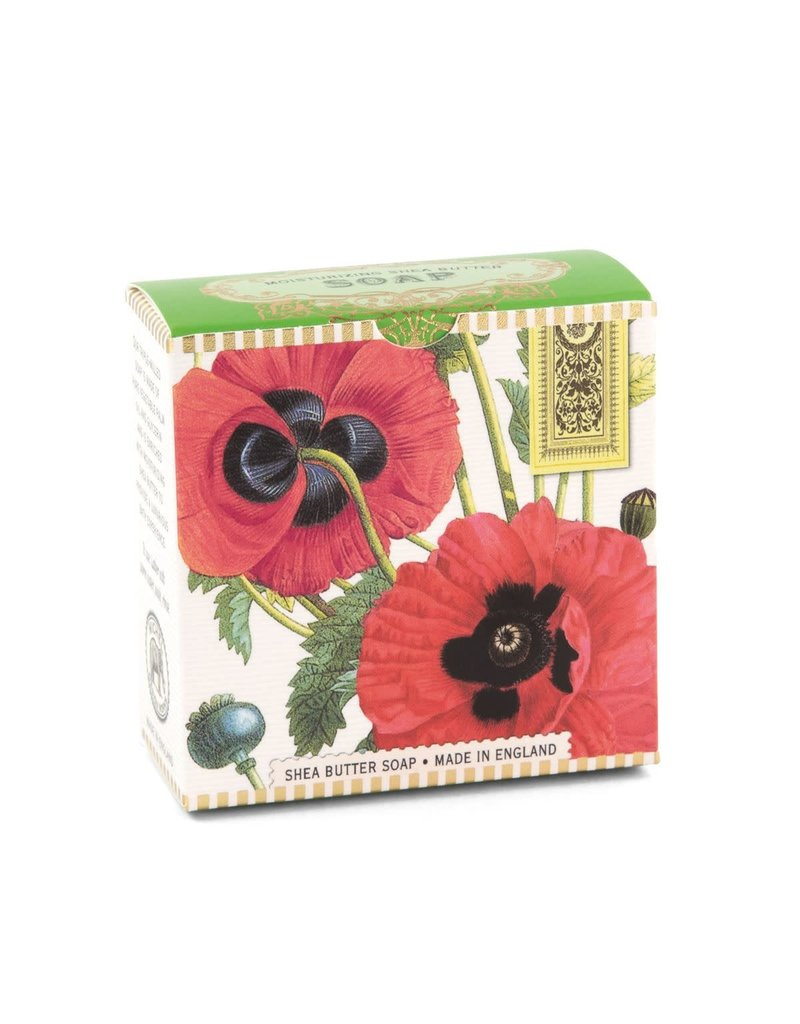 Poppy little soap