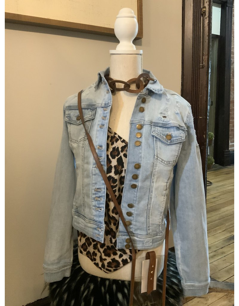 CHARLIE B Denim jacket c6113