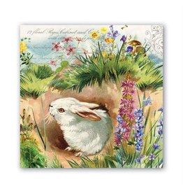 Bunny hollow hostess napkins