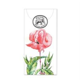 Flamingo pocket tissues