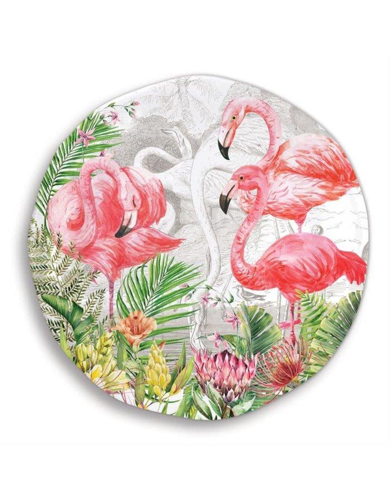 Flamingo melamine little plate