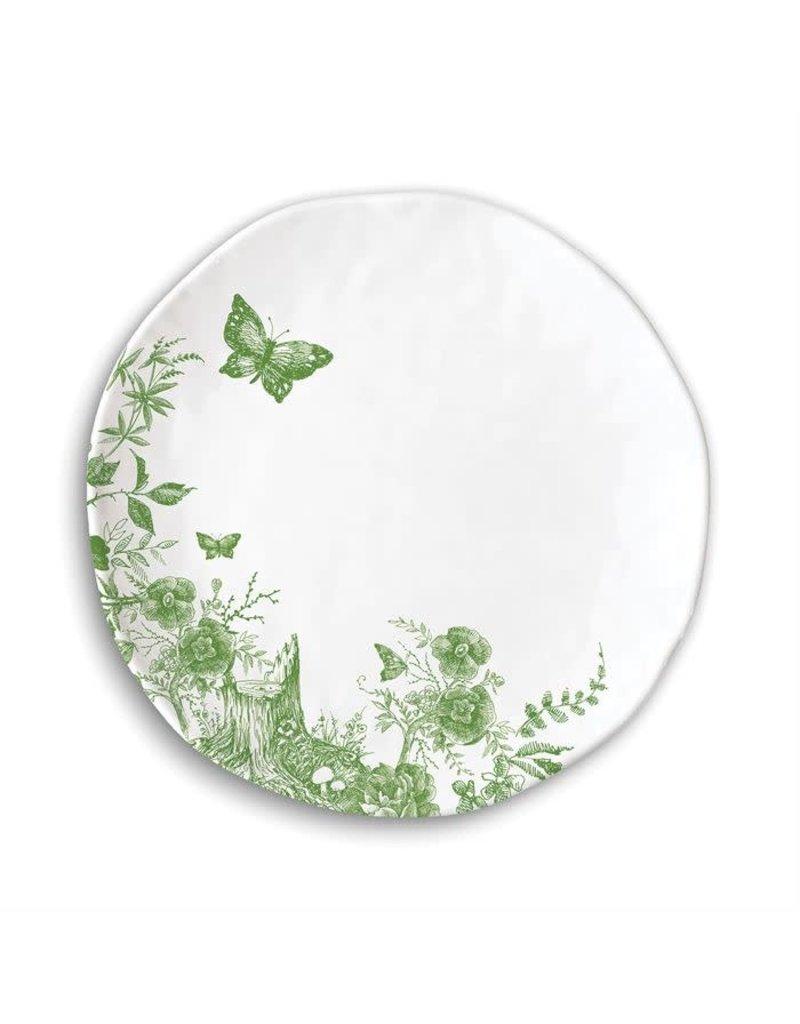 Bunny toile melamine Plate