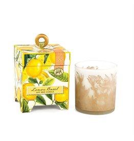 Lemon basil 6.5 soy candle