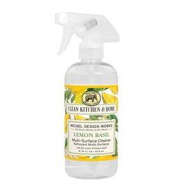 Lemon basil multi purpose cleaner