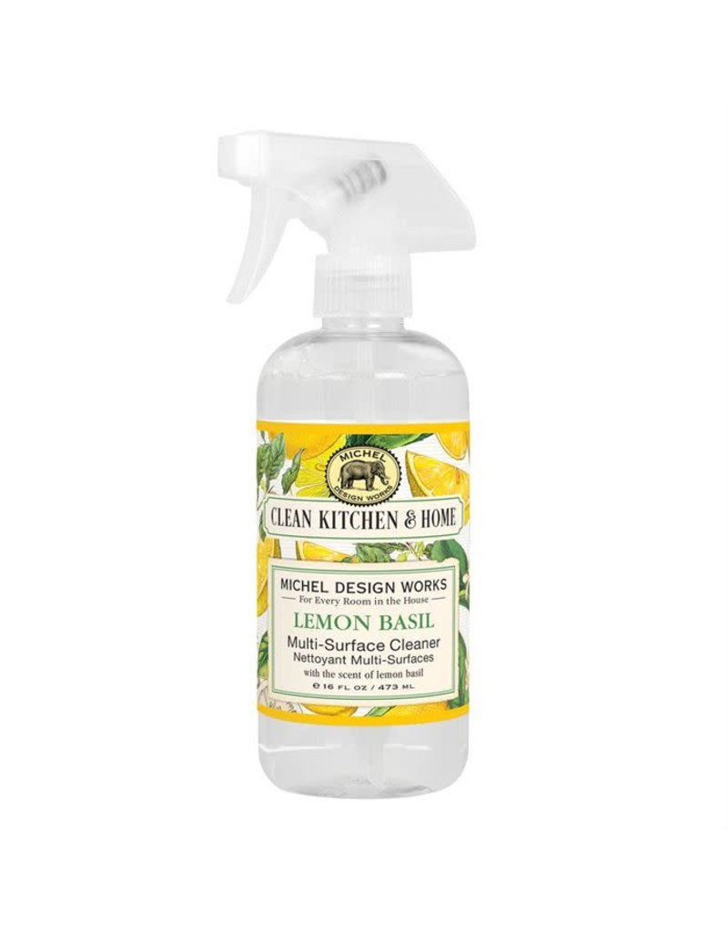 Lemon basil multi purpose cleaner