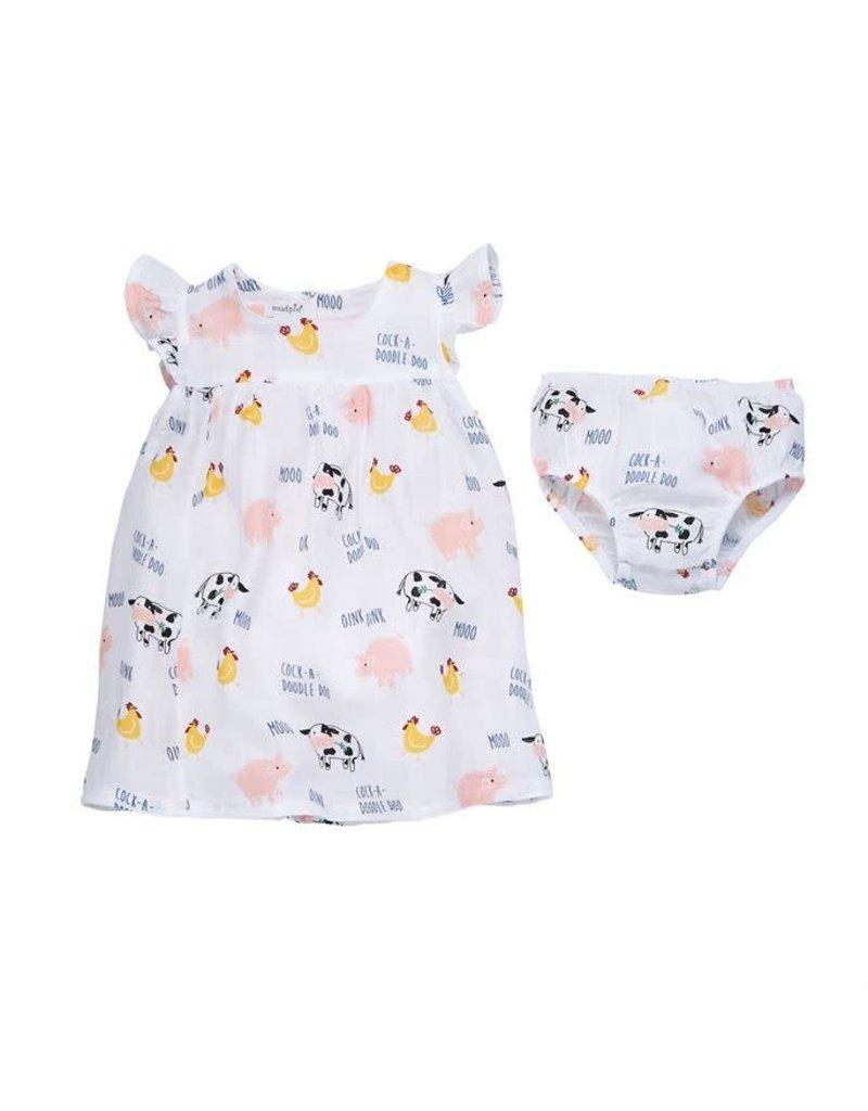 Muslin Dress (3-6M) 15000036-06