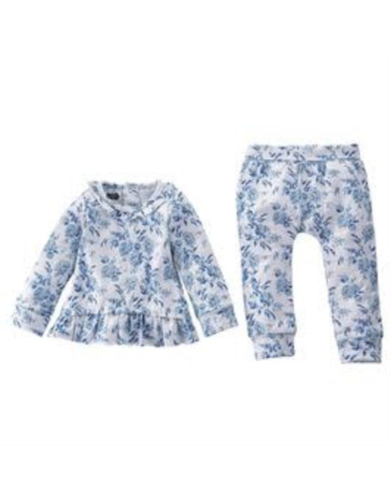 Blue Floral (3-6 M) 11010083-06